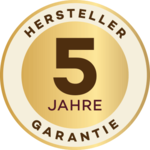 GoldenCurl 5-year Guarantee