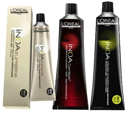 Colorationen von L'Oréal Professionnel