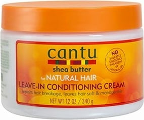 Shea Butter Natural Leave In Conditioning Cream - 340 g