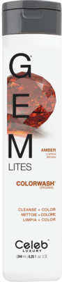 Celeb Luxury GEM LITES Colorwash Amber - Amber, 244 ml