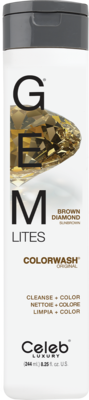 Celeb Luxury GEM LITES Colorwash Brown Diamond - Brown Diamond, 244 ml