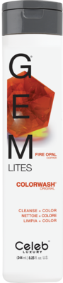Celeb Luxury GEM LITES Colorwash Fire Opal - Fire Opal, 244 ml