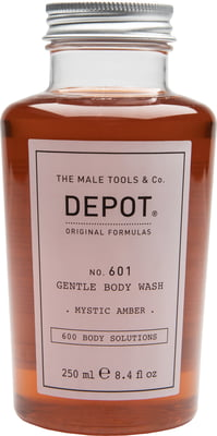 Depot No.601 GENTLE BODY WASH mystic amber - 250 ml