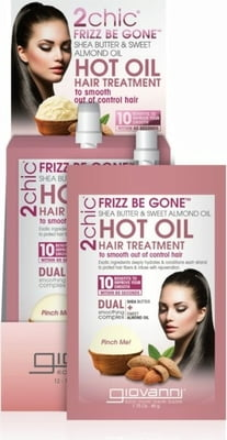 Giovanni Frizz Be Gone  Hot Oil Hair Treatment - 12 Pcs