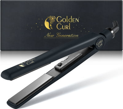 "IL Nero Black Titanium-Like Straightener  -25% with coupon code ""GC-25"""