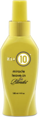 It´s a 10 Haircare Miracle Leave-In Conditioner for Blondes - 120 ml