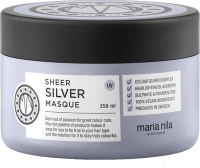 Maria Nila Sheer Silver Masque -
