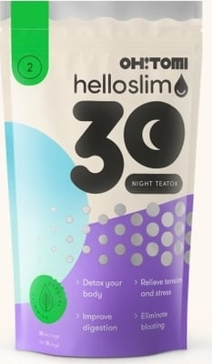 Oh!Tomi Hello Slim Night Teatox - 30 Stk