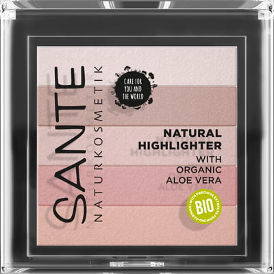 Sante Natural Highlighter - 02 Rose