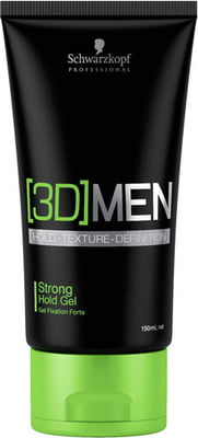 Schwarzkopf Professional [3D]MEN Strong Hold Gel - 150 ml