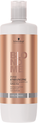 BlondME Tone Enhancing Bonding Shampoo Cool Blondes - 1.000 ml