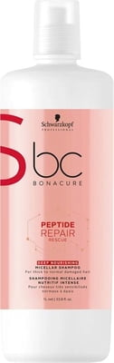 Bonacure Peptide Repair Rescue Deep Nourish Shampoo - 1.000 ml