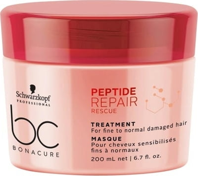 Schwarzkopf Bonacure Peptide Repair Rescue Treatment - 200 ml