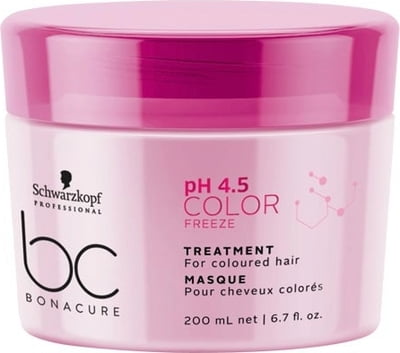 Schwarzkopf Professional Bonacure PH 4.5 Color Freeze Treatment - 200 ml
