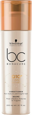 Schwarzkopf Professional Bonacure Q10+ Time Restore Conditioner - 200 ml