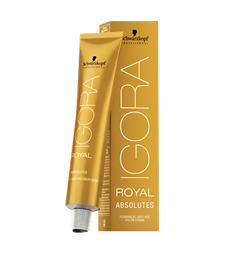 Schwarzkopf Igora Royal Absolutes - 7-60 srednje blond čokoladna natur, 60 ml