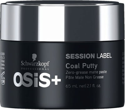Schwarzkopf Professional OSiS+  Session Label Coal Putty - 65 ml