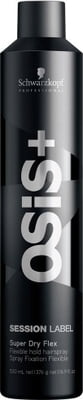 OSiS+  Session Label Haarspray Super Dry Fix - 500 ml