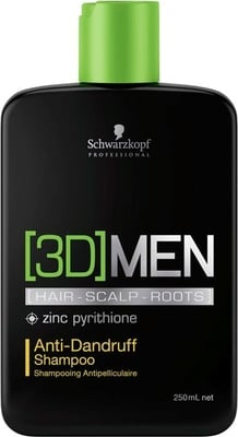Schwarzkopf Professional [3D]MEN Anti-Dandruff Shampoo - 250 ml