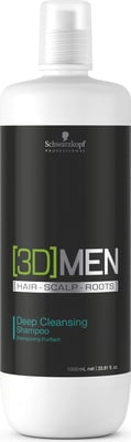 Schwarzkopf Professional [3D]MEN Deep Cleansing Shampoo - 1.000 ml