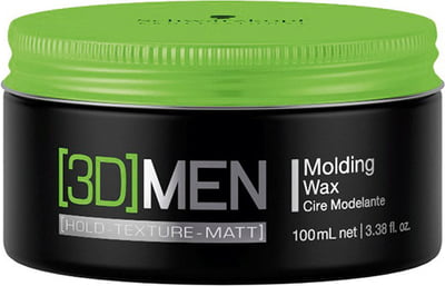 Schwarzkopf Professional [3D]MEN - Molding Wax(medium hold) - 100 ml