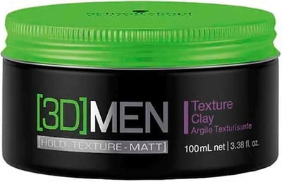Schwarzkopf Professional [3D]MEN Texture Clay(super Strong) - 100 ml