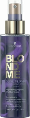 BlondME COOL BLONDES Neutralizing Spray Conditioner - 150 ml