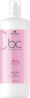 Schwarzkopf Professional Bonacure PH 4.5 Color Freeze Conditioner - 1.000 ml