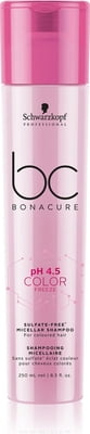 Bonacure PH 4.5 Color Freeze Micellar Sulfate Free Shampoo - 250 ml