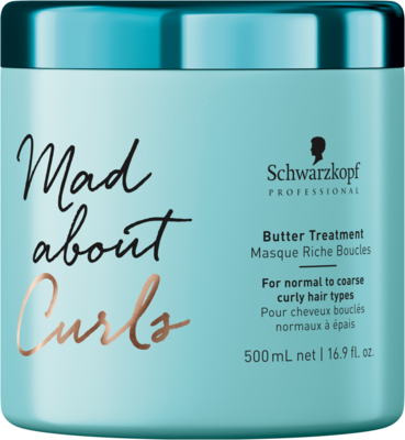 Schwarzkopf Professional Mad about Curls Butter Treatment - 500 ml