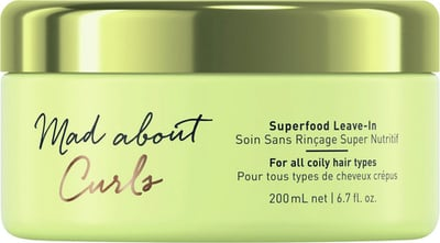 Schwarzkopf Professional Mad about Curls Superfood Leave-In - 200 ml