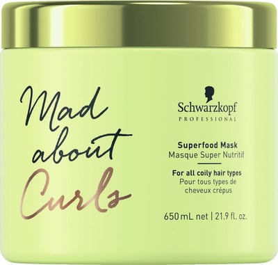 Schwarzkopf Professional Mad about Curls Superfood Maske - 650 ml