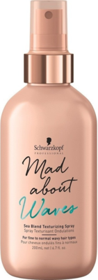 Schwarzkopf Professional Mad about Waves Sea Blend Texture Spray - 200 ml