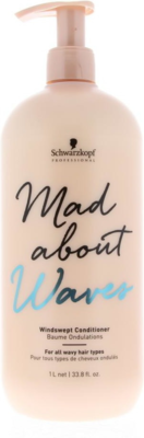 Schwarzkopf Professional Mad about Waves Windswept Conditioner - 1.000 ml