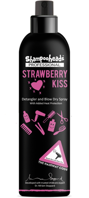 Shampooheads Professional Strawberry Kiss Detangler Spray - 200 ml