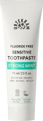 Urtekram Strong Mint Sensitive Toothpaste - 75 ml