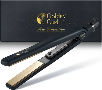 "The Gold Titanium-Like Straightener -25% with coupon code ""GC-25"" - 1 Pc"