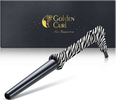 "The Zebra Curling Wand (18-25 mm) -25% with coupon code ""GC-25"""