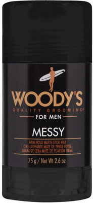 Woody´s Messy Firm Hold Matte Stick Wax - 74 ml