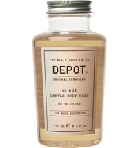 Depot No. 601 GENTLE BODY WASH White Cedar