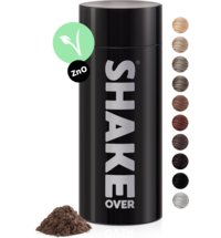 shake over® zinc-enriched hair fibers Light brown