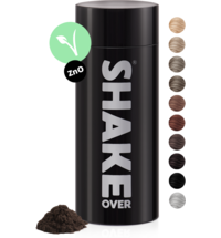 shake over® zinc-enriched hair fibers Medium brown