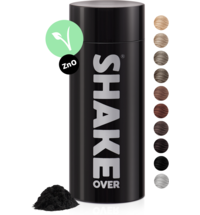 shake over® zinc-enriched hair fibers Black
