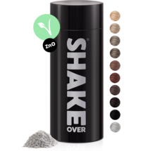 shake over® zinc-enriched hair fibers Gray