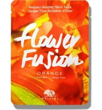 Flower Fusion™ Radiance-Boosting Sheet Mask - Orange