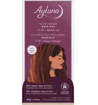 Ayluna Chestnut Red Herbal Hair Dye