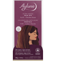Ayluna Chocolate Brown Herbal Hair Dye