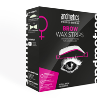 Andmetics Brow Wax Strips - Big Pack