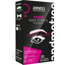 Andmetics Brow Wax Strips Damen