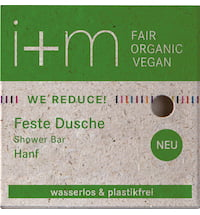 i+m Naturkosmetik Berlin WE REDUCE Solid Hemp Shower Bar